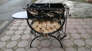 Кованый мангал в Тюмени на сайте stalnoi-brand.ru