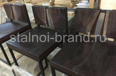 Кованый стул КС-5 фото 1