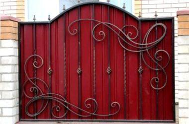Кованый забор КЗ-1 фото 1