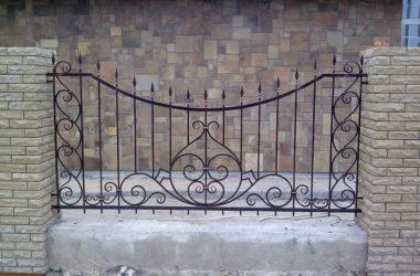 Кованый забор КЗ-2