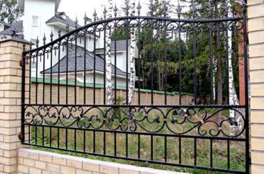 Кованый забор КЗ-9