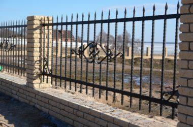 Кованый забор КЗ-10