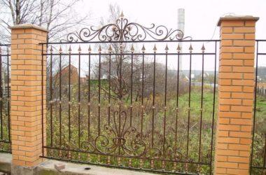 Кованый забор КЗ-12