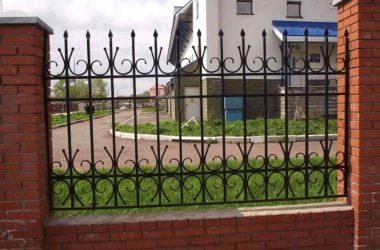 Кованый забор КЗ-14