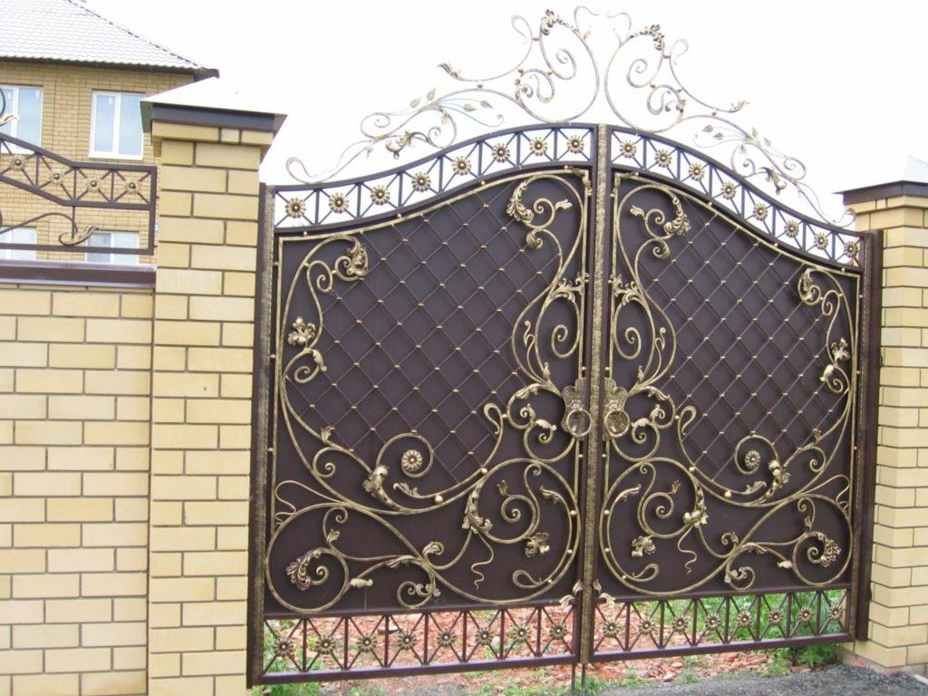 Кованые ворота КВ-51