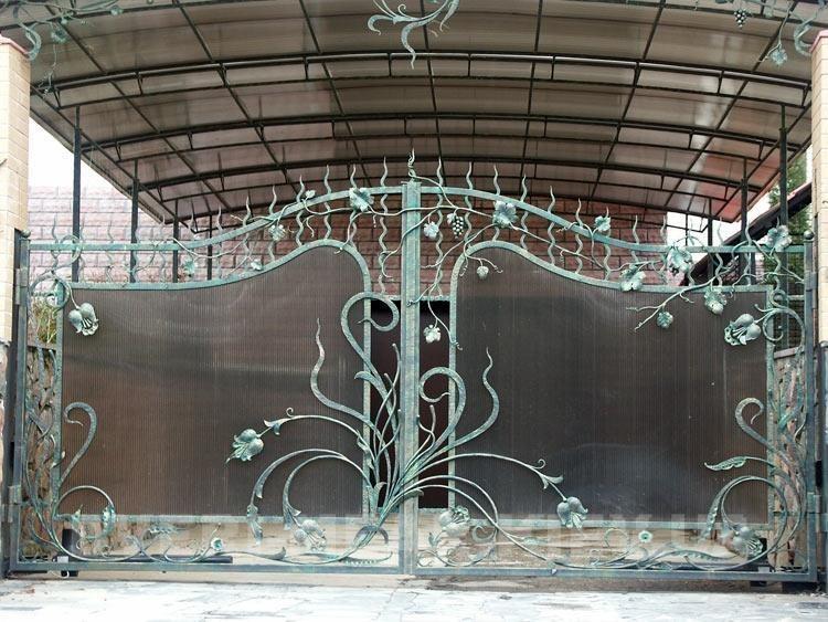 Кованые ворота КВ-52