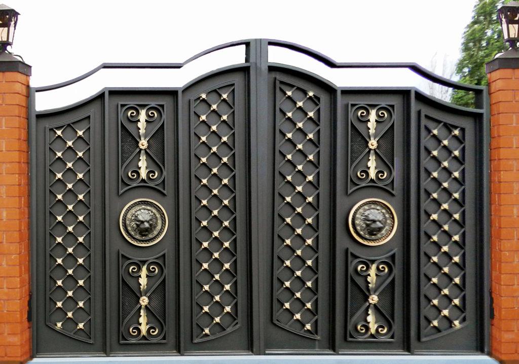Кованые ворота КВ-53