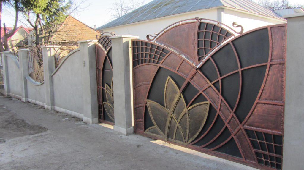 Кованые ворота КВ-8