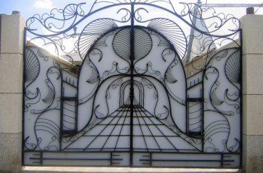 Кованые ворота КВ-42