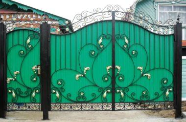 Кованые ворота КВ-45
