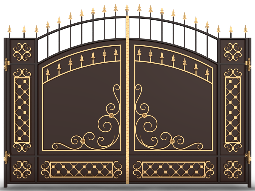 Кованые ворота КВ-28