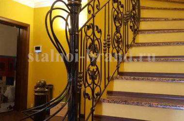 Кованая лестница КЛ-1
