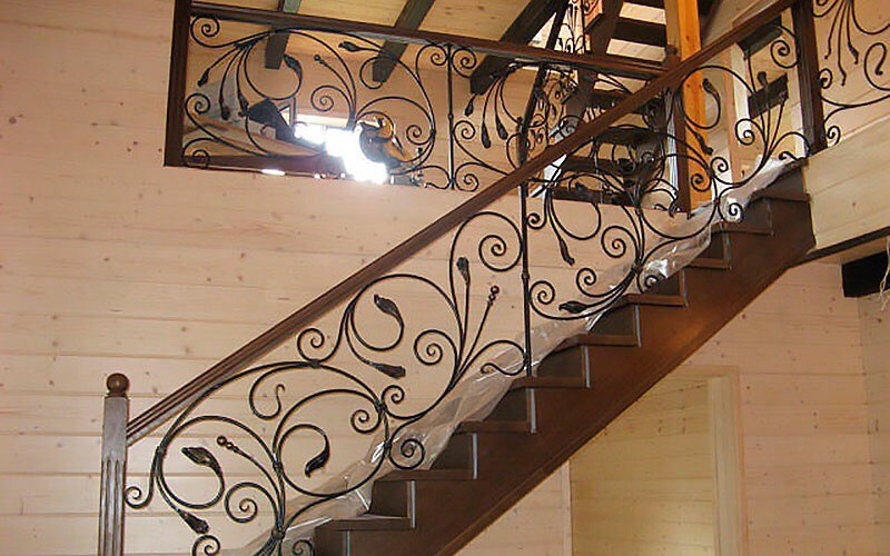 Кованая лестница КЛ-17