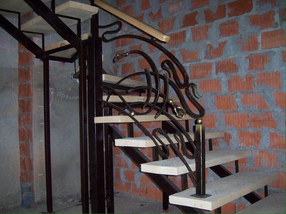 Кованая лестница КЛ-20