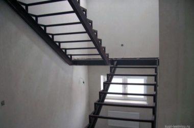 Кованая лестница КЛ-27