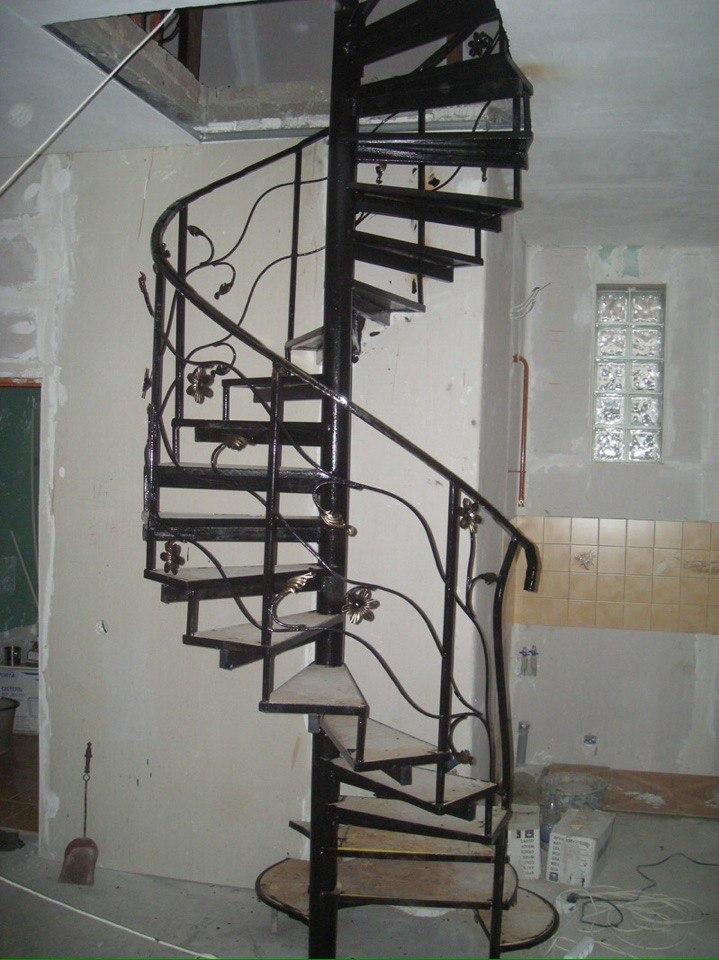 Кованая лестница КЛ-30