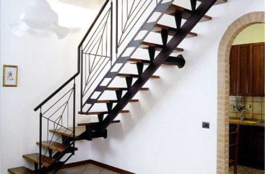 Кованая лестница КЛ-34