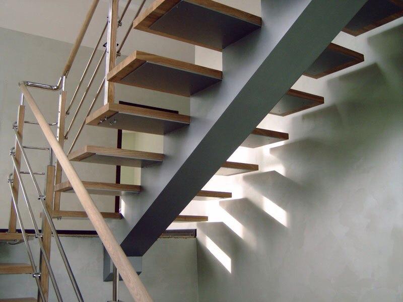 Кованая лестница КЛ-11