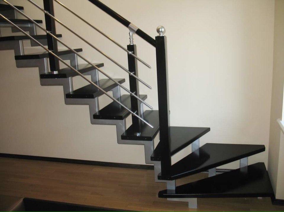 Кованая лестница КЛ-12