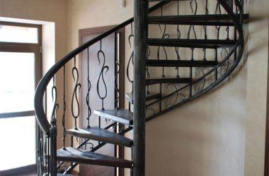 Кованая лестница КЛ-13