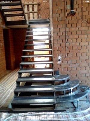 Кованая лестница КЛ-14