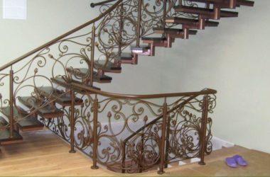 Кованая лестница КЛ-15