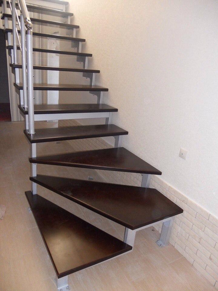 Кованая лестница КЛ-19