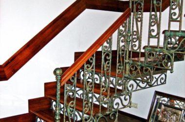 Кованая лестница КЛ-23