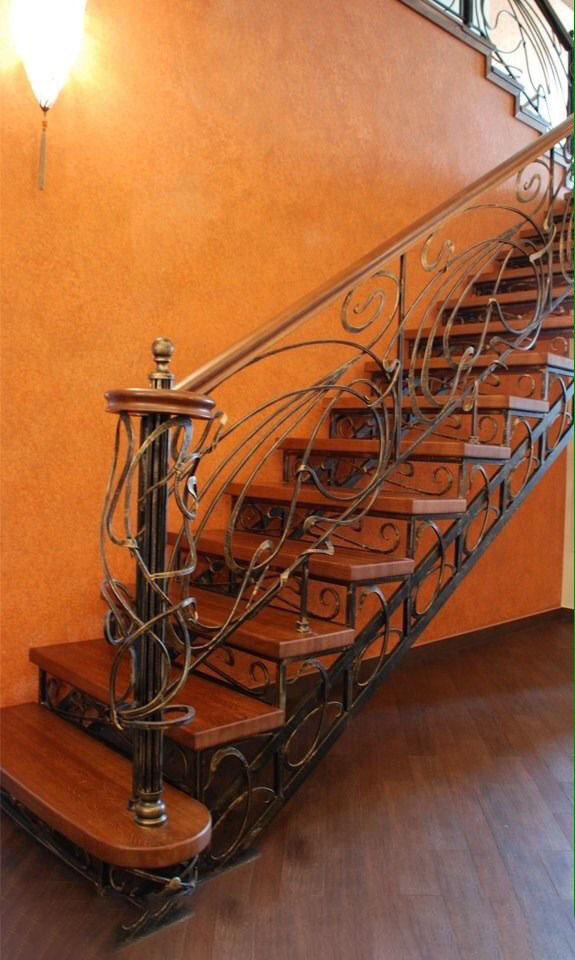 Кованая лестница КЛ-33