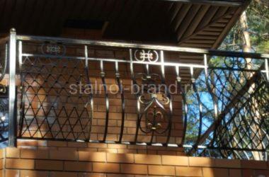 Кованое балконное ограждение КБО-01