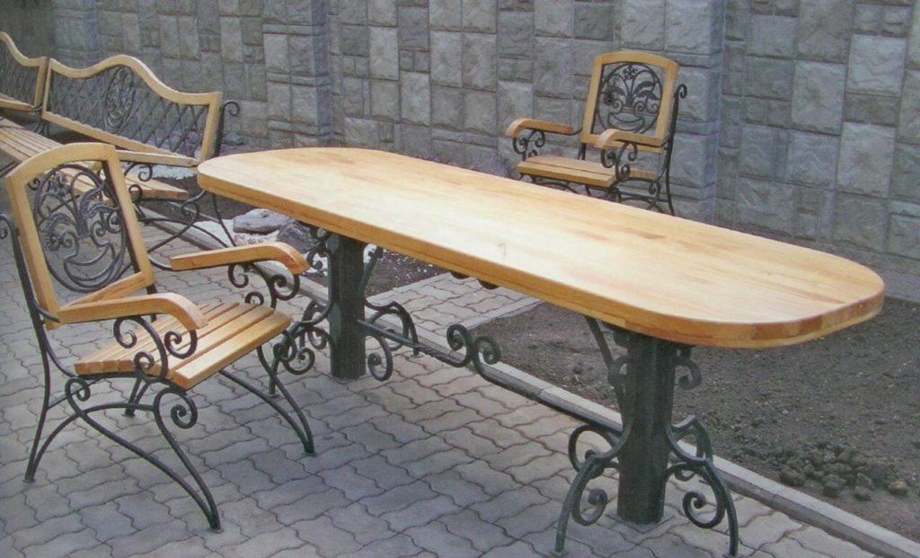 Кованый стол КС-38
