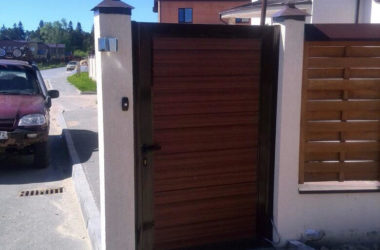 Автоматические кованые ворота АКВ-2