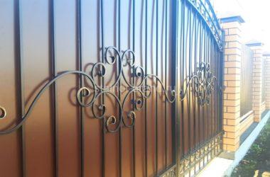 Классические кованые ворота КВ-57