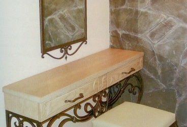 Кованый диван КД-1