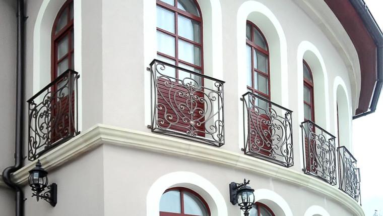 Кованое балконное ограждение КБО-1