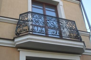 Кованое балконное ограждение КБО-10