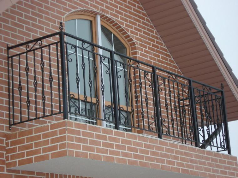 Кованое балконное ограждение КБО-11