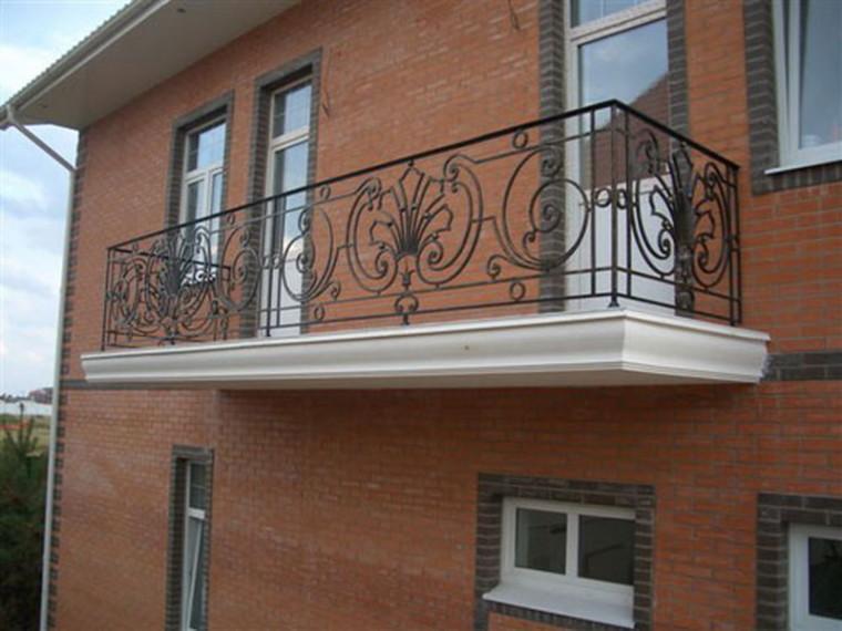 Кованое балконное ограждение КБО-12