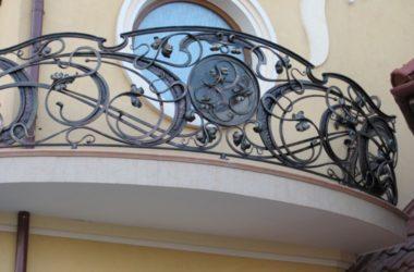 Кованое балконное ограждение КБО-13