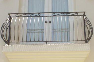 Кованое балконное ограждение КБО-14