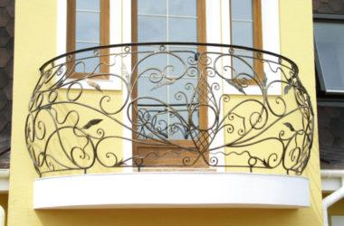 Кованое балконное ограждение КБО-19