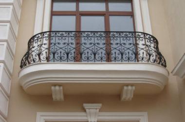 Кованое балконное ограждение КБО-2