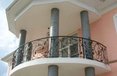 Кованое балконное ограждение КБО-20
