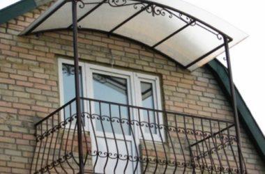 Кованое балконное ограждение КБО-22