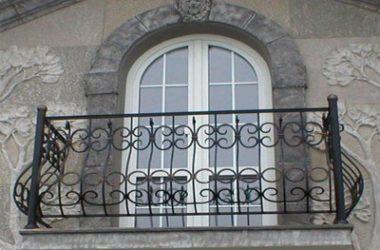 Кованое балконное ограждение КБО-3