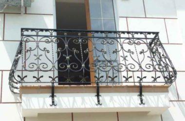 Кованое балконное ограждение КБО-5