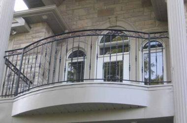 Кованое балконное ограждение КБО-6
