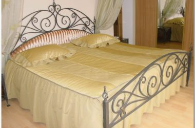 Кованая кровать КК-6