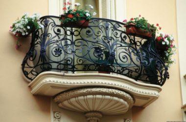 Кованое балконное ограждение КБО-7