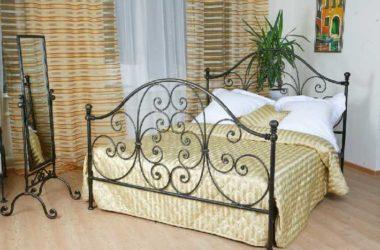 Кованая кровать КК-8